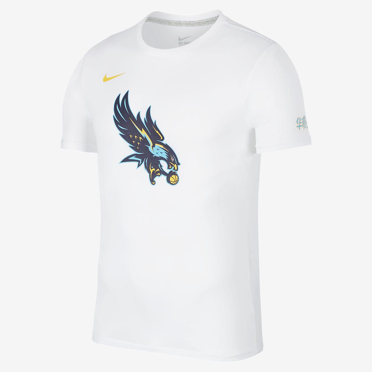 Nike 2019 HBL Shanghai HMZX 耐克高中篮球联赛男子篮球T恤