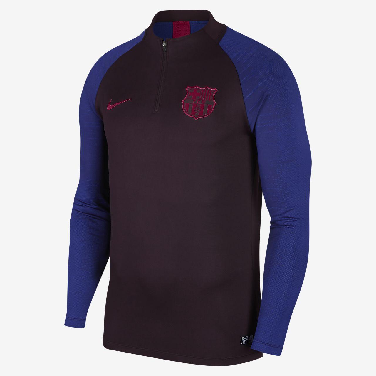 Męska treningowa koszulka piłkarska Nike Dri-FIT FC Barcelona Strike