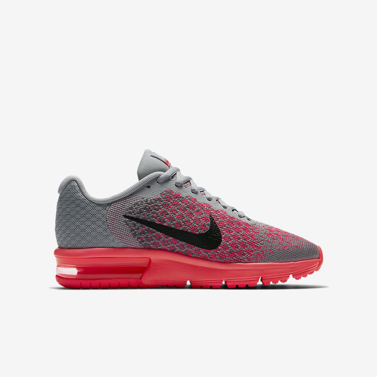 hot sale online 0bdcd cf025 ... Nike Air Max Sequent 2 Older Kids  Running Shoe