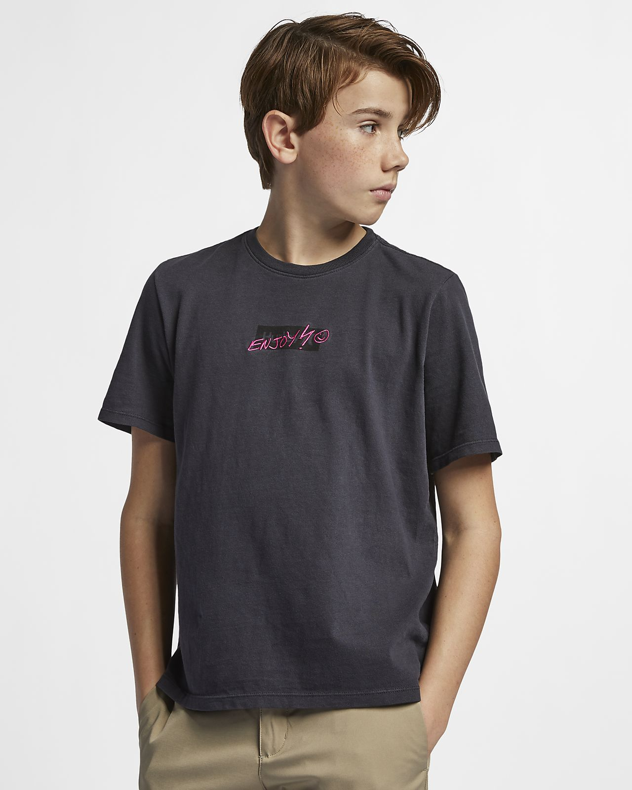 cd2c1407d02 Hurley Heavy Enjoy Boys  T-Shirt. Nike.com