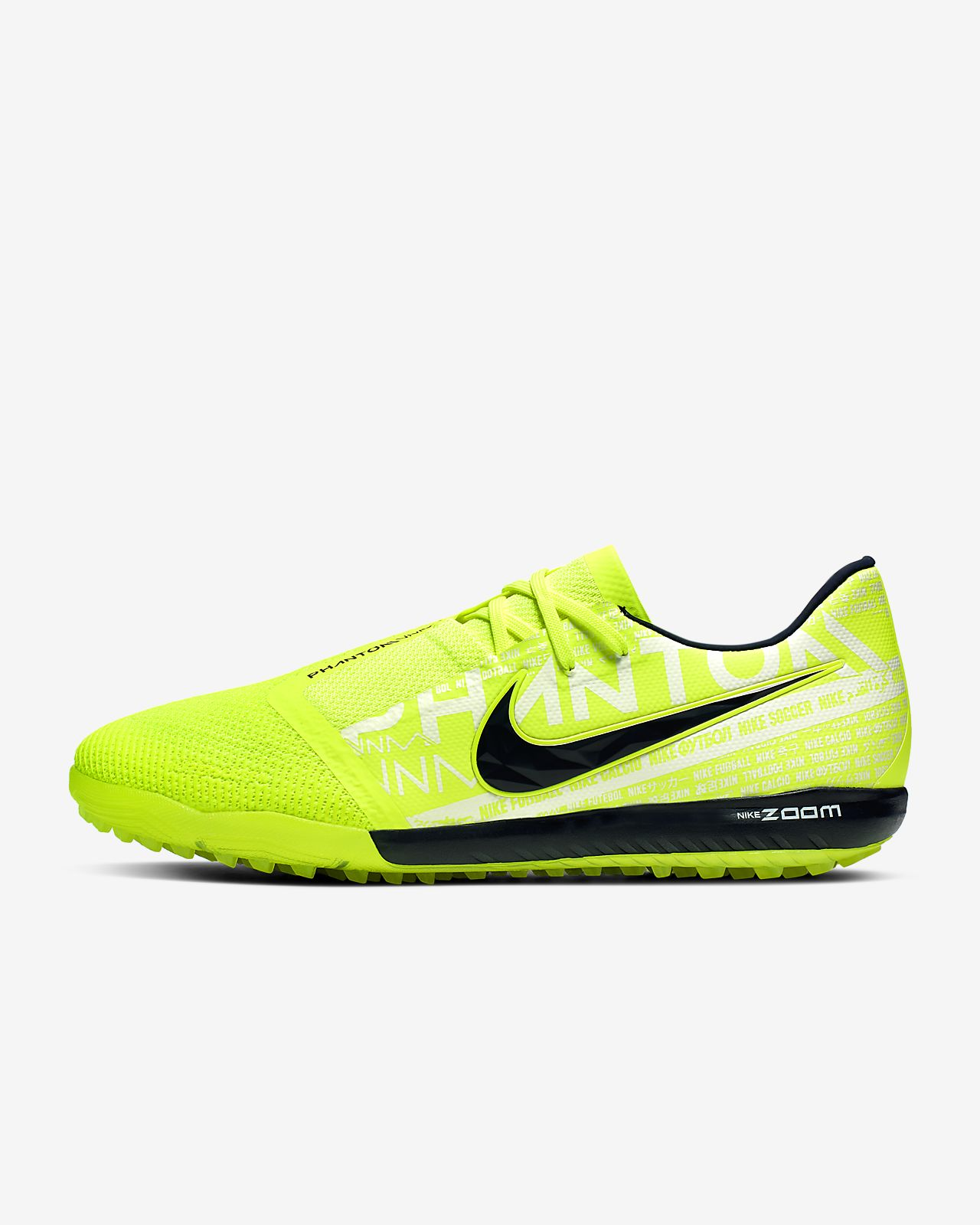 Nike Zoom Phantom Venom Pro TF Botas de fútbol para hierba artificial o moqueta Turf