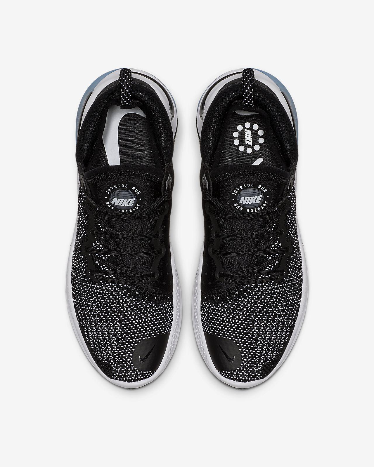Nike Joyride Run Flyknit Hardloopschoen voor dames Zwart