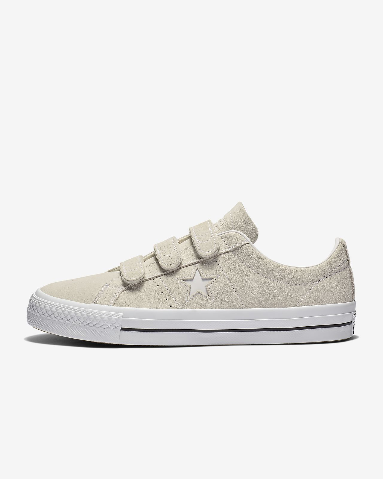 Converse One Star Pro Hook And Loop Suede Low Top  Unisex Skate Shoe
