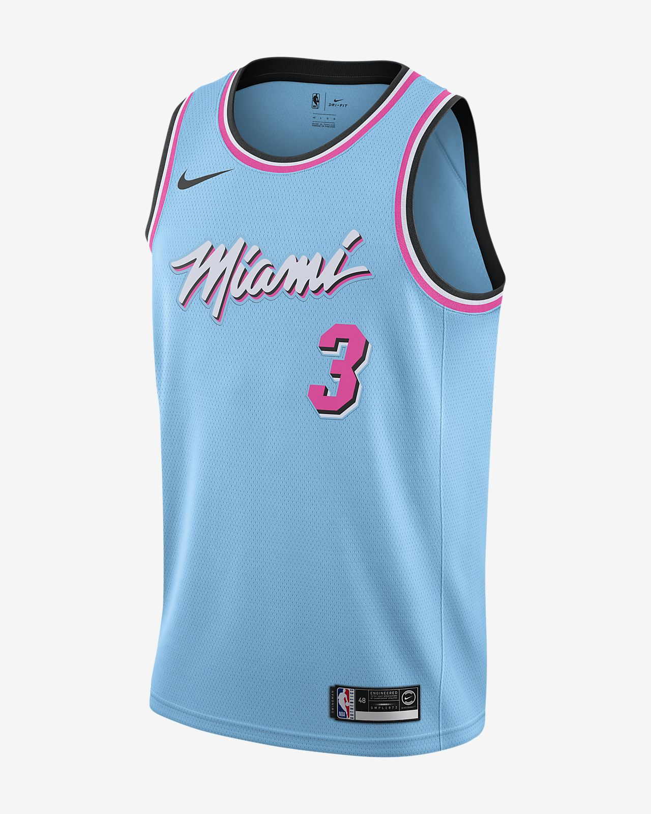 Dwyane Wade Heat – City Edition Nike NBA Swingman Forma