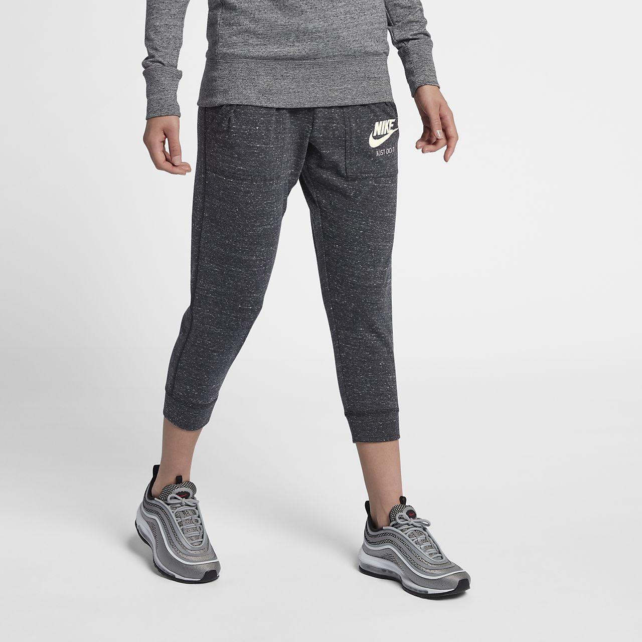 Lastest Nike Legend 2.0 Womenu0026#39;s Regular Cotton Capri Workout Pants ...