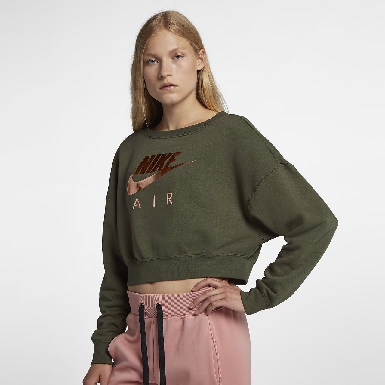 bda7a3dd69ea Nike Air Rally Women s Metallic Crew. Nike.com AU