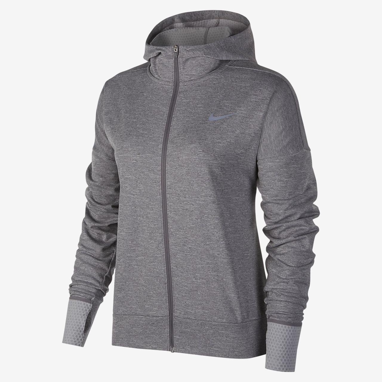 Sudadera con capucha de running para mujer Nike Therma Sphere Element