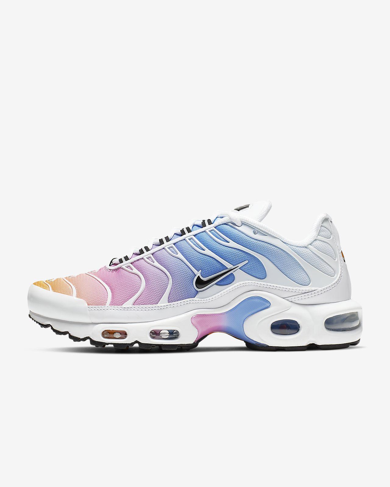 chaussure nike air max plus femme blanc