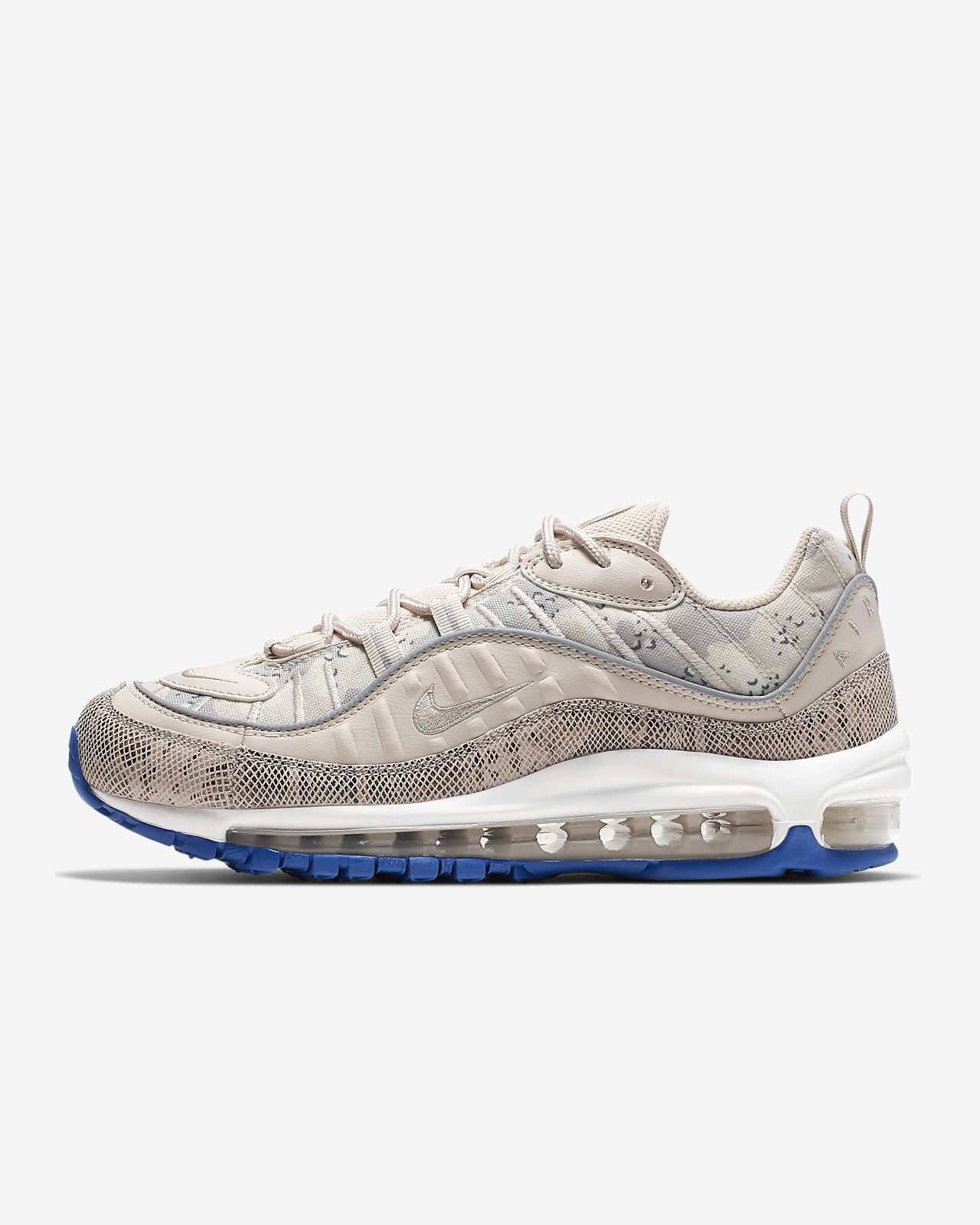 save off 9b376 372b4 Nike Air Max 98 Premium Camo Women's Shoe