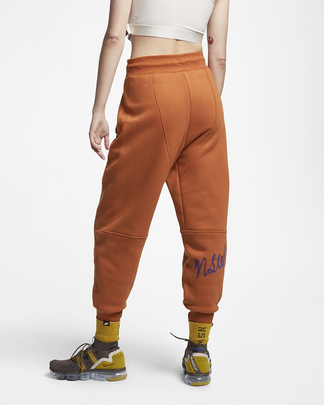 pantalon nike orange femme