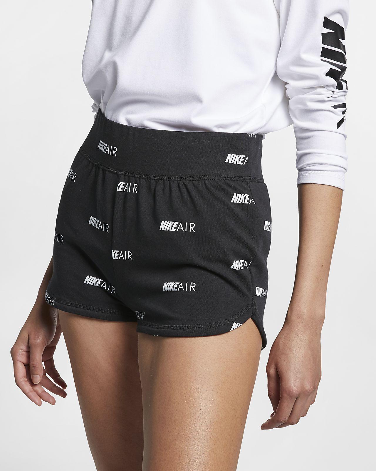Shorts stampati Nike Air - Donna