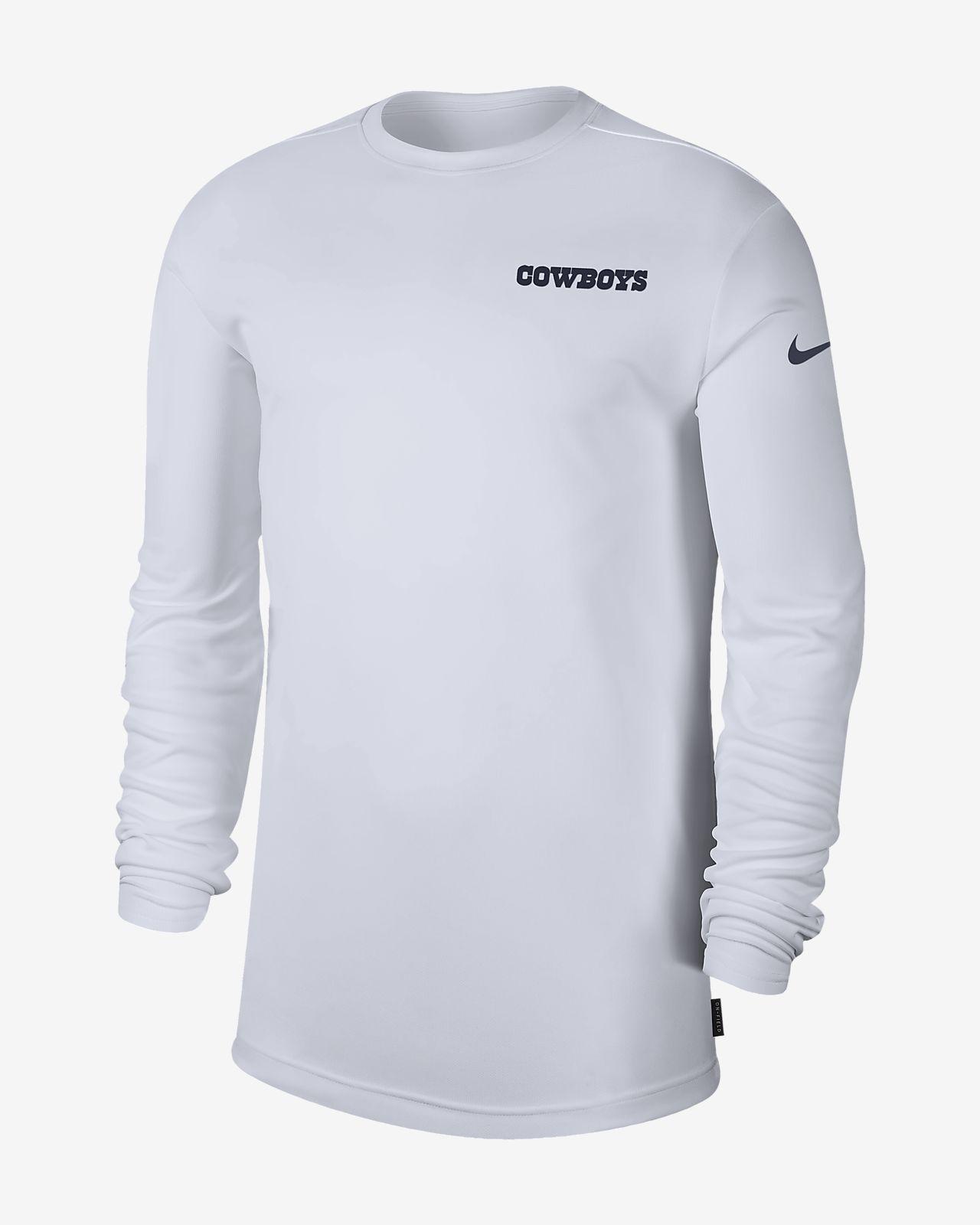 f366d59544d6 Nike Dri-FIT Coach (NFL Cowboys) Men s Long-Sleeve Top. Nike.com