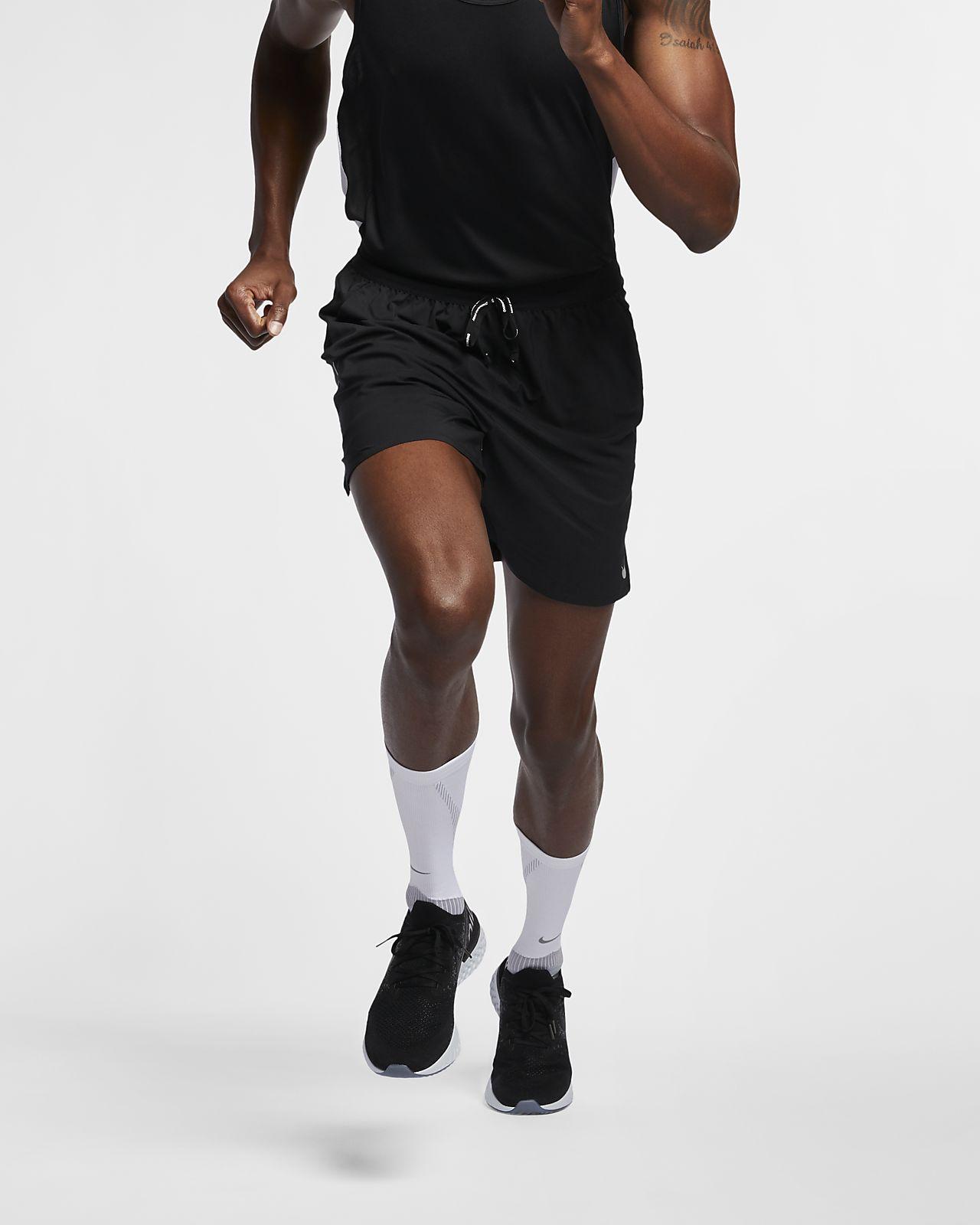 กางเกงวิ่งขาสั้น 7 นิ้ว 2-in-1 ผู้ชาย Nike Dri-FIT Flex Stride