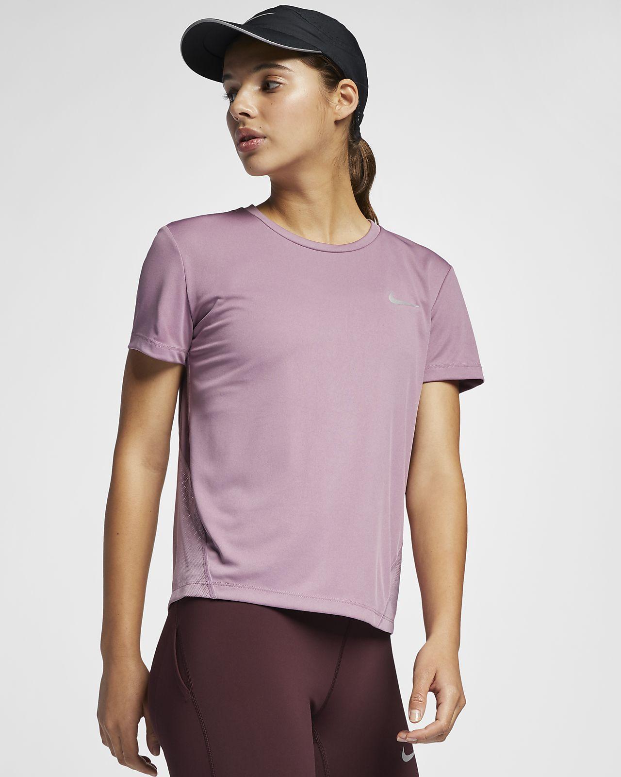 17c52f00b6 Nike Miler Women s Short-Sleeve Running Top. Nike.com EG