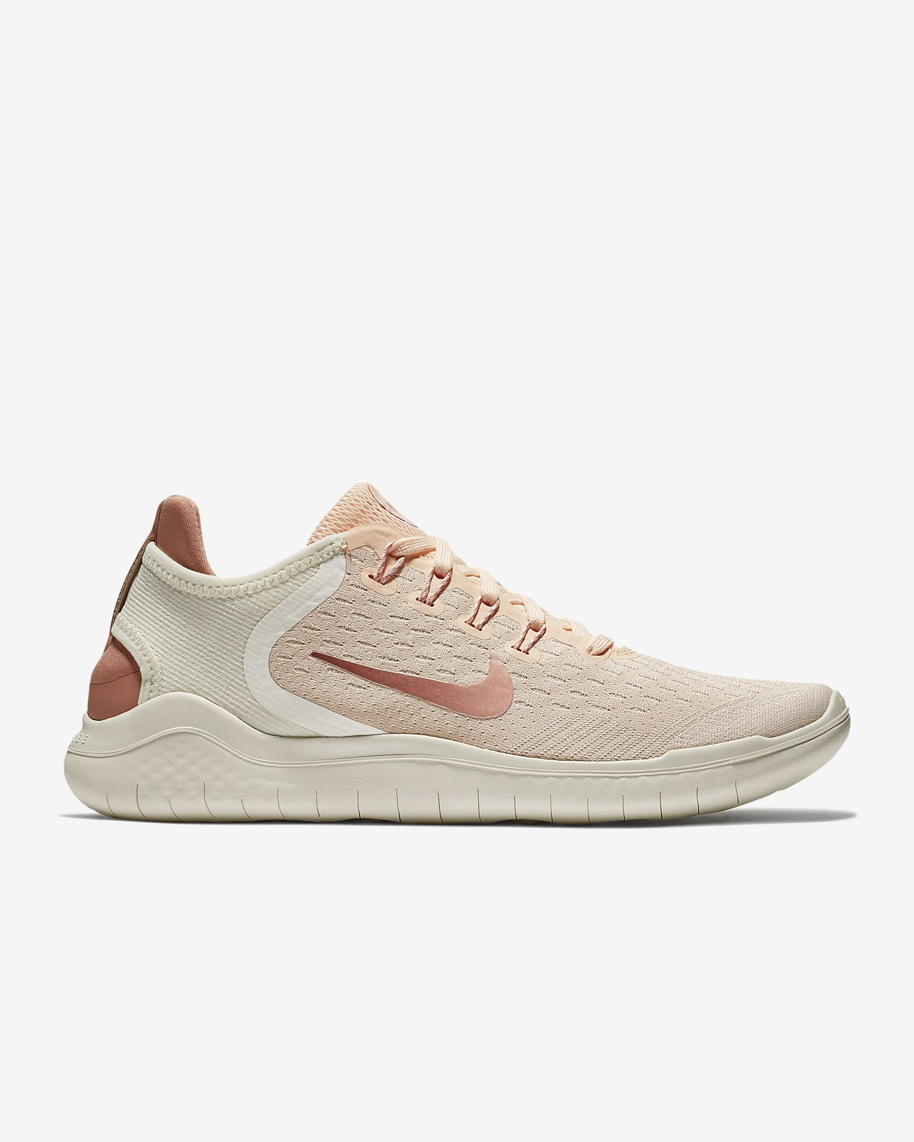 Nike PerformanceFREE RN 2018 - Trainers - guava ice/rust pink/sail/pink tint IWlUIGp6g6