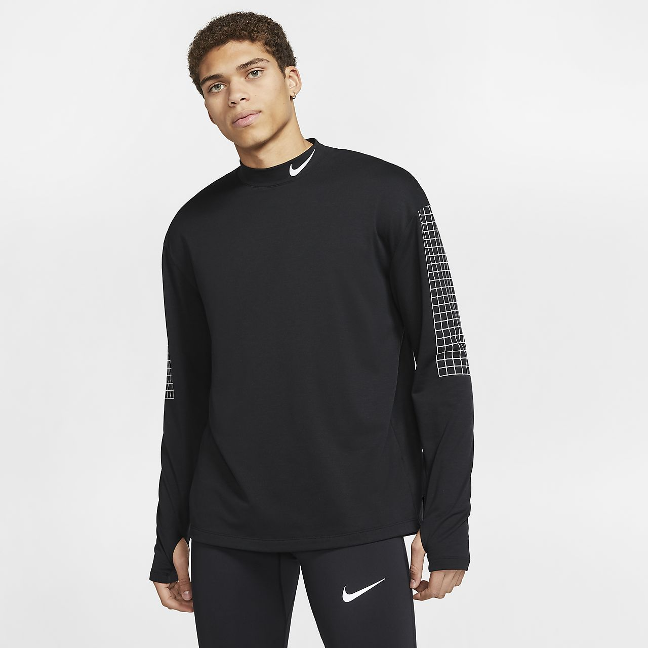 269490b7 Nike Dri-FIT Therma Sphere Element Men's Running Crew. Nike.com