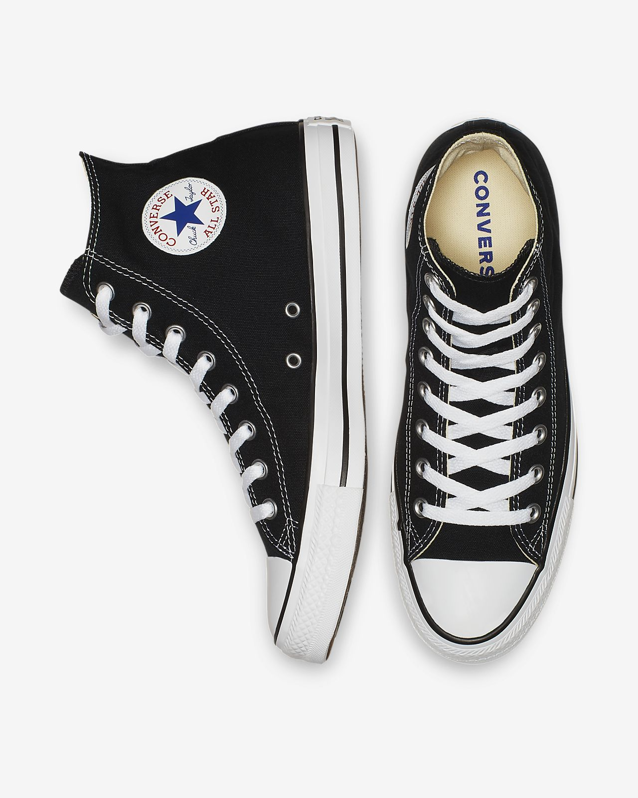 bbc6fa7460db Converse Chuck Taylor All Star High Top Unisex Shoe. Nike.com