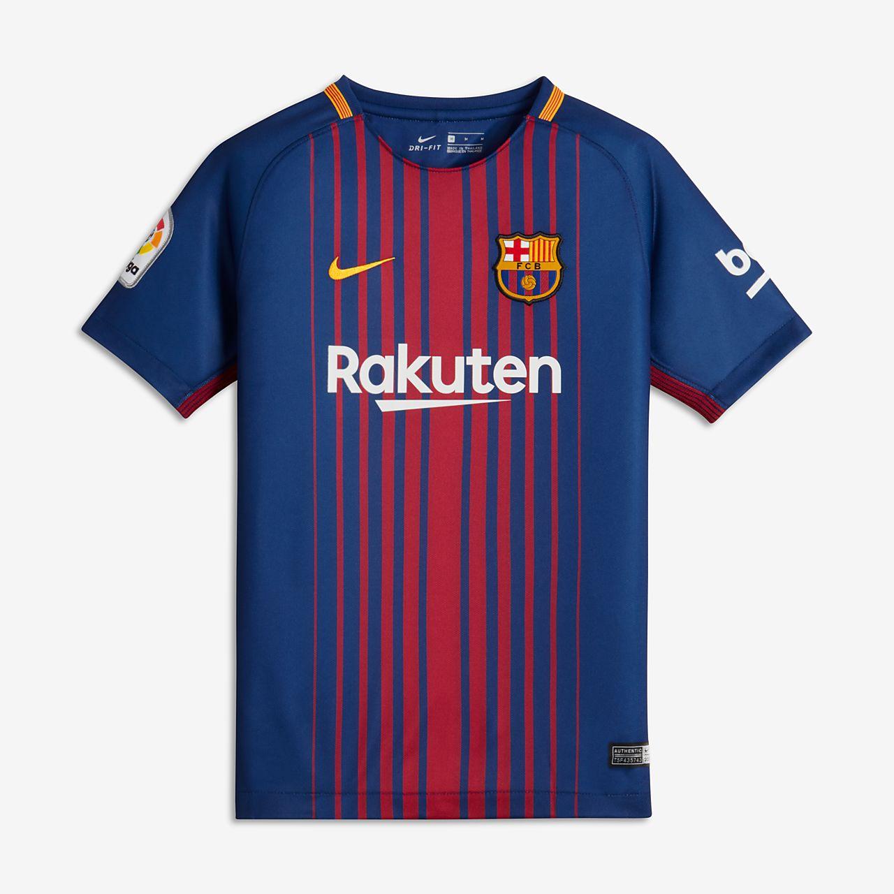 5426a60da3c 2017/18 FC Barcelona Home Older Kids' Football Shirt. Nike.com MY