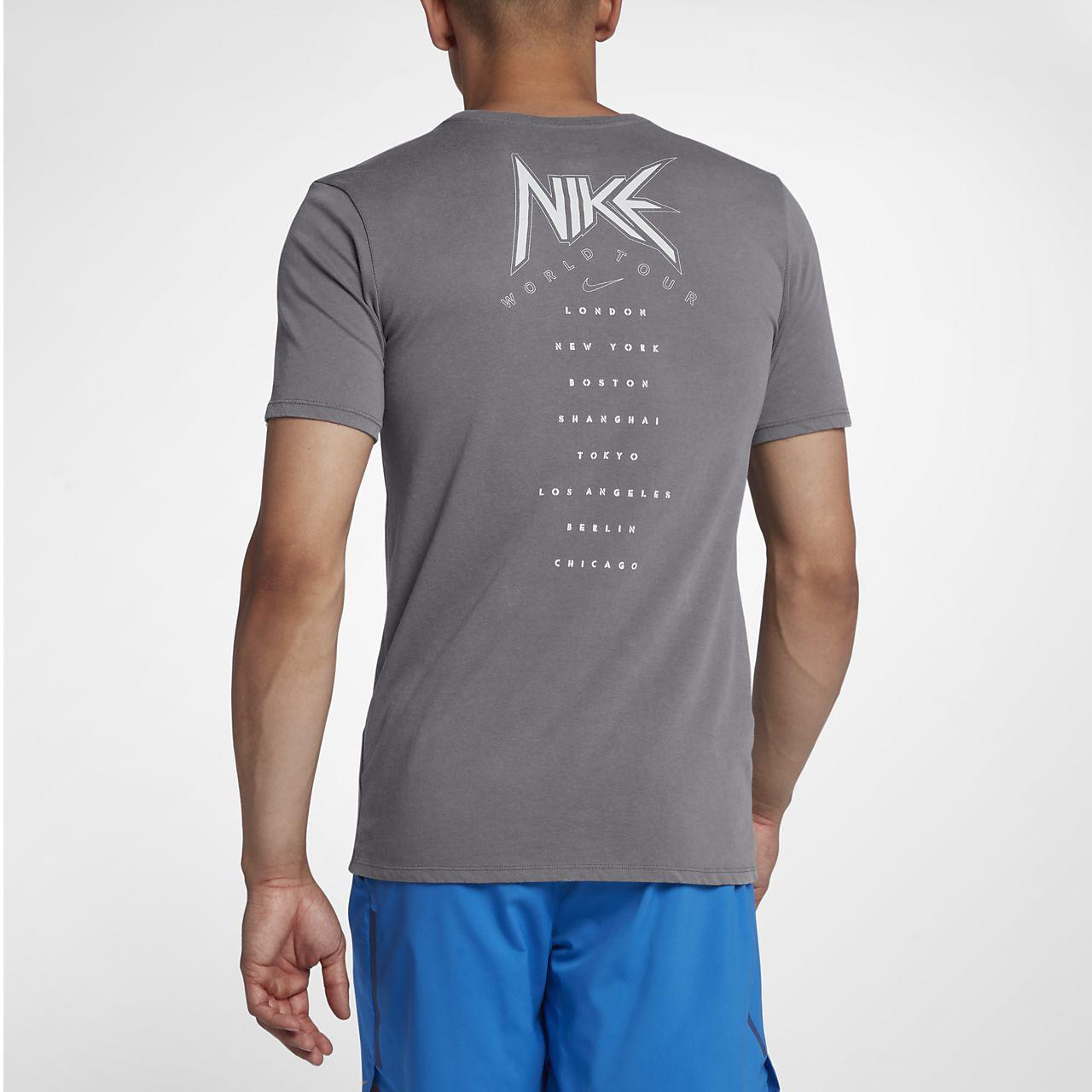Nike Dri FIT Lauf T Shirt für Herren