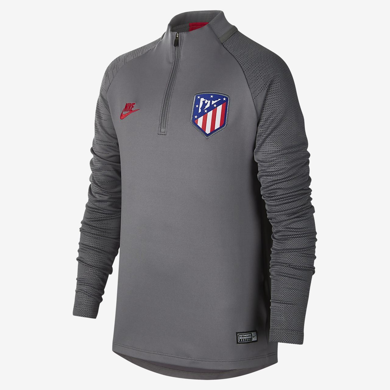 Atlético de Madrid Strike Fußball-Trainingsoberteil für ältere Kinder
