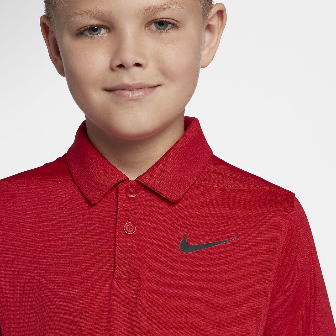 f9e30deb Nike Dri-FIT Victory Big Kids' (Boys') Golf Polo. Nike.com