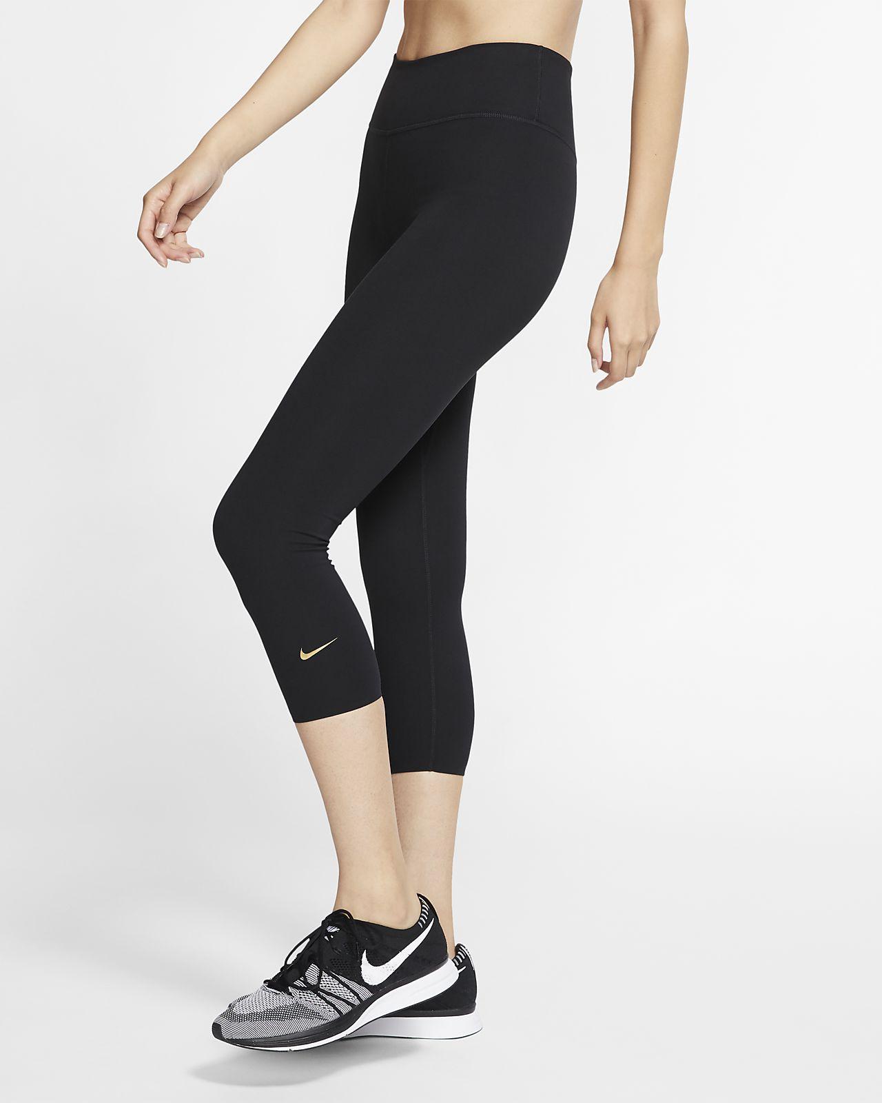 Nike One Luxe Bilek Üstü Kadın Taytı