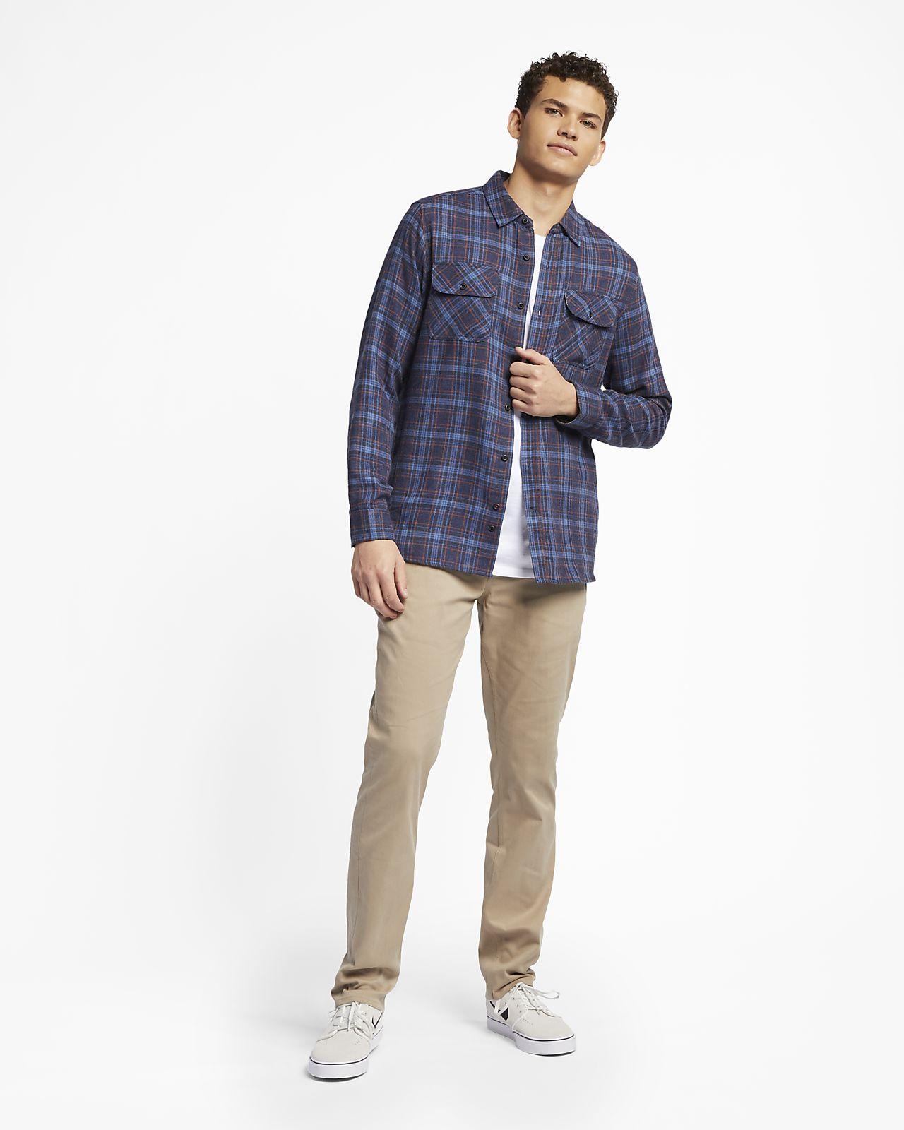 9f48283dced Мужская фланелевая рубашка с длинным рукавом Hurley Walker. Nike.com RU