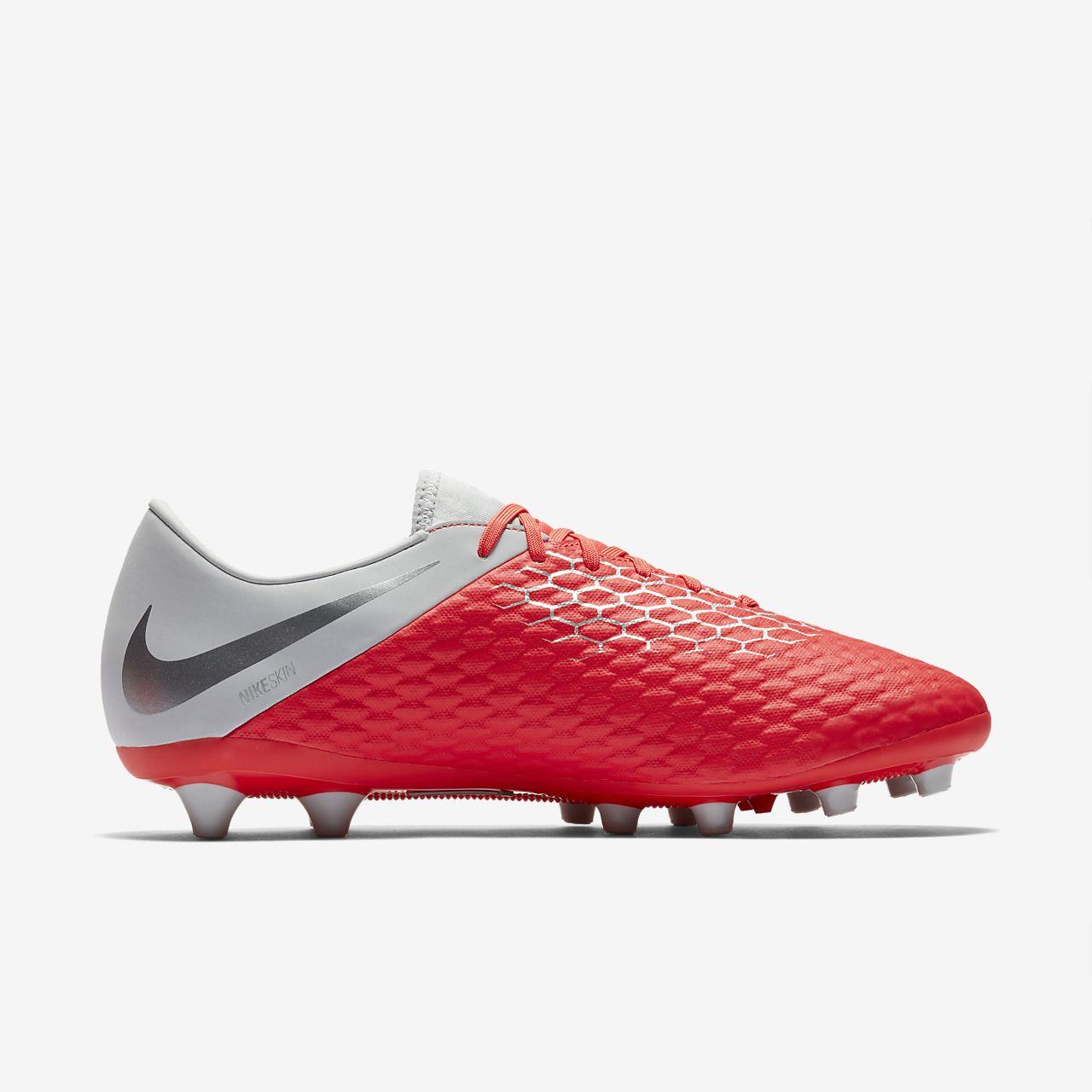 best cheap 88555 0fc34 ... Chaussure de football à crampons pour terrain synthétique Nike  Hypervenom III Academy AG-PRO