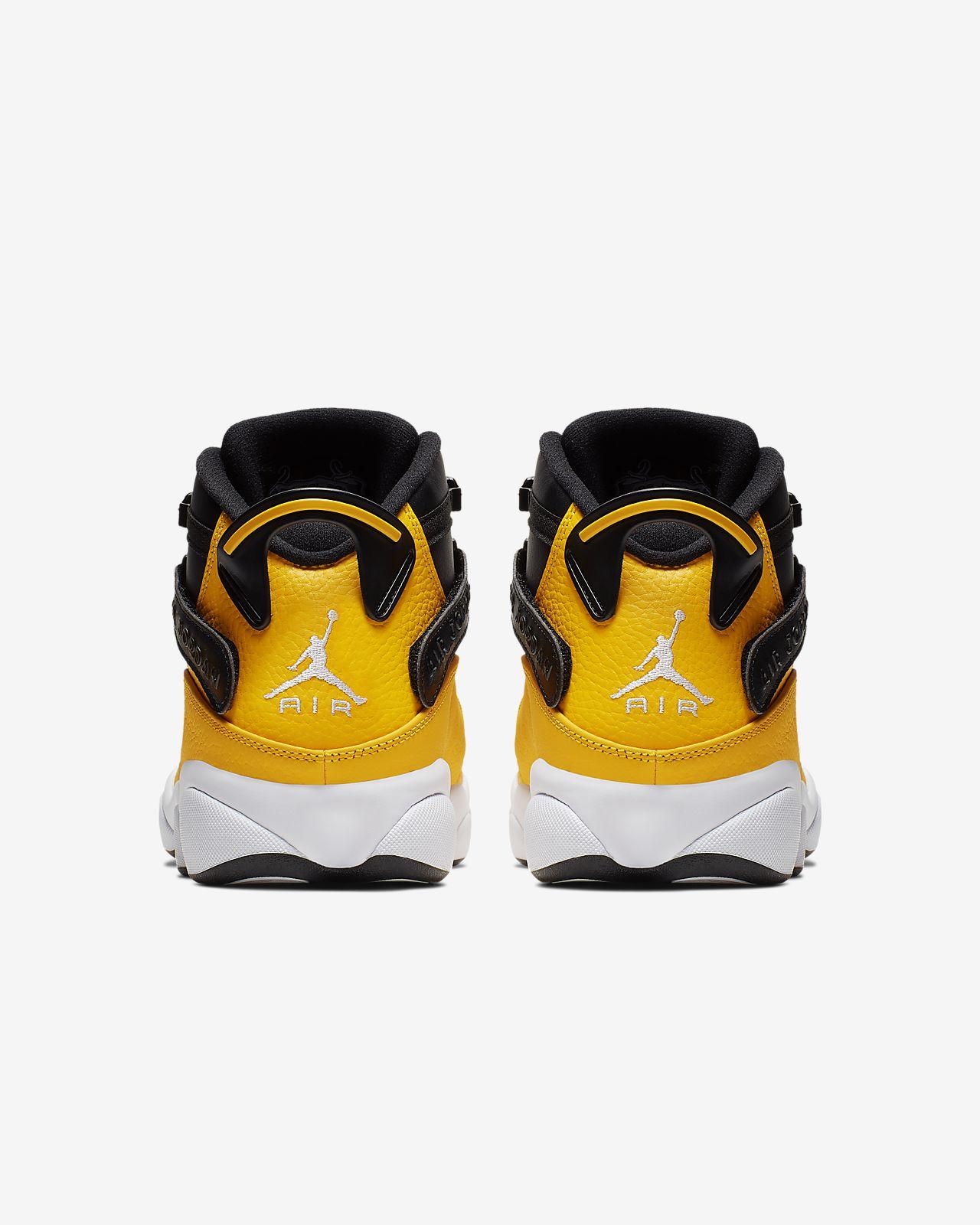 air jordan 6 rings jaune