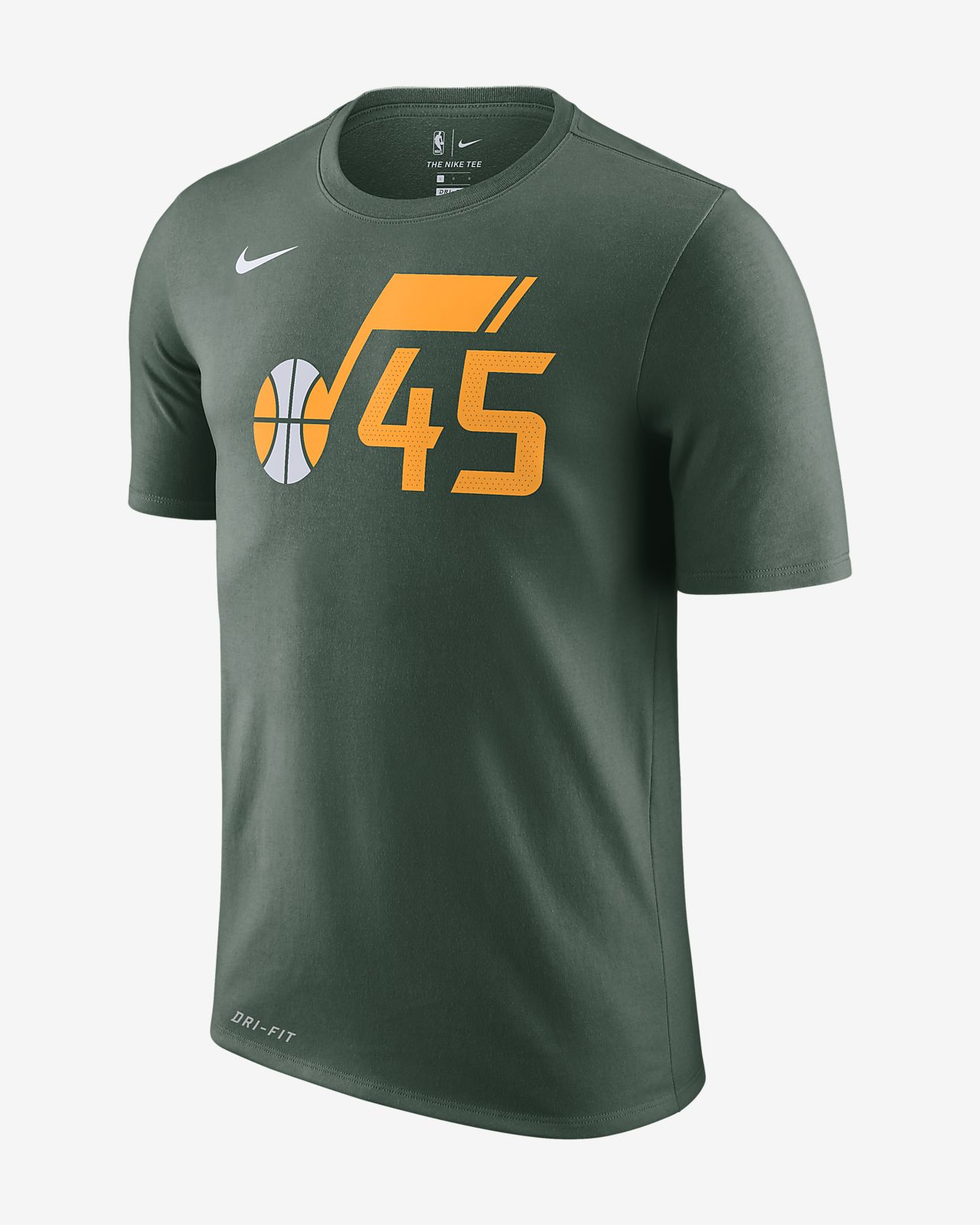 a332c4b443c5 Men s NBA T-Shirt. Donovan Mitchell Utah Jazz City Edition Nike Dri-FIT