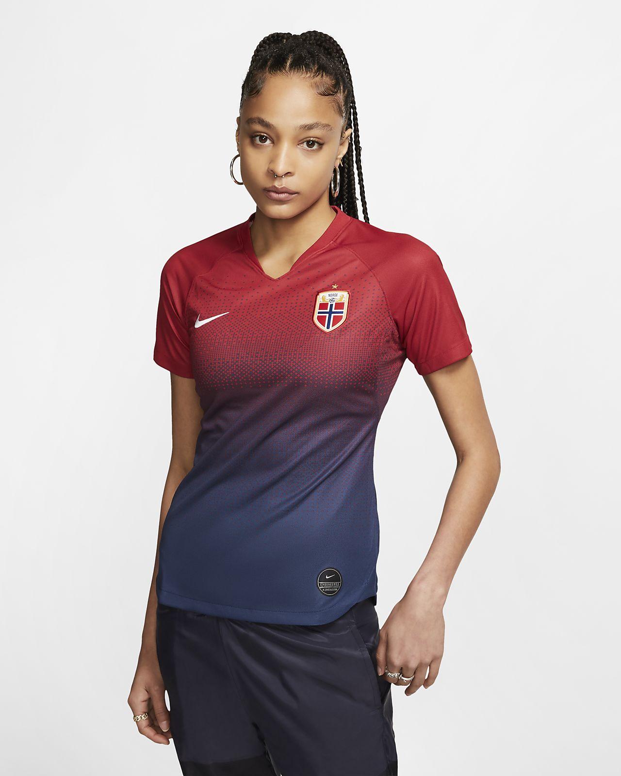 Camiseta de fútbol de local para mujer Stadium de Noruega 2019