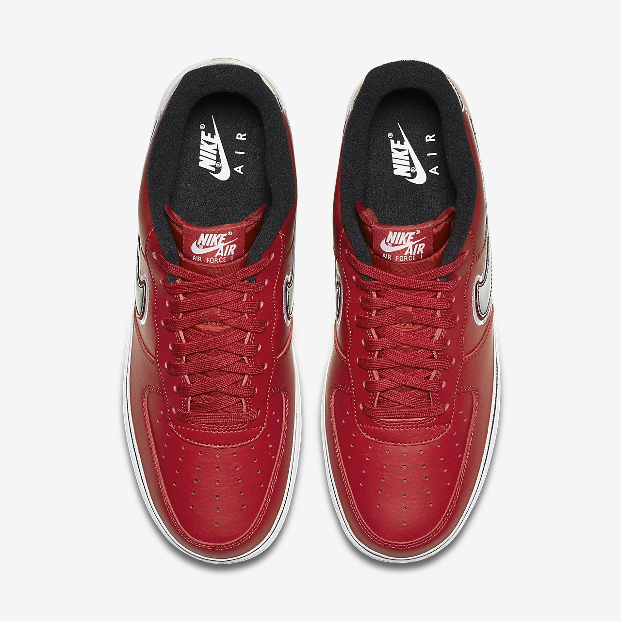 5537a379c1a Nike Air Force 1 NBA Low (Chicago Bulls) Men s Shoe. Nike.com IL