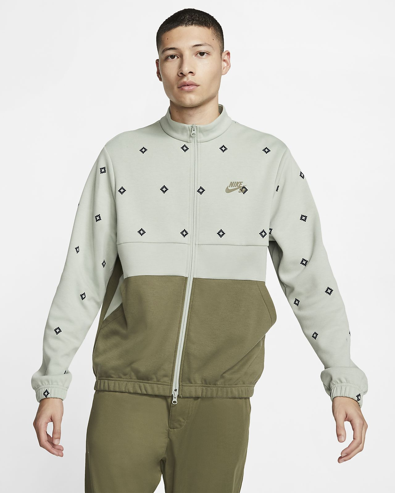 Nike SB Dri-FIT Men's Printed Skate Track Jacket