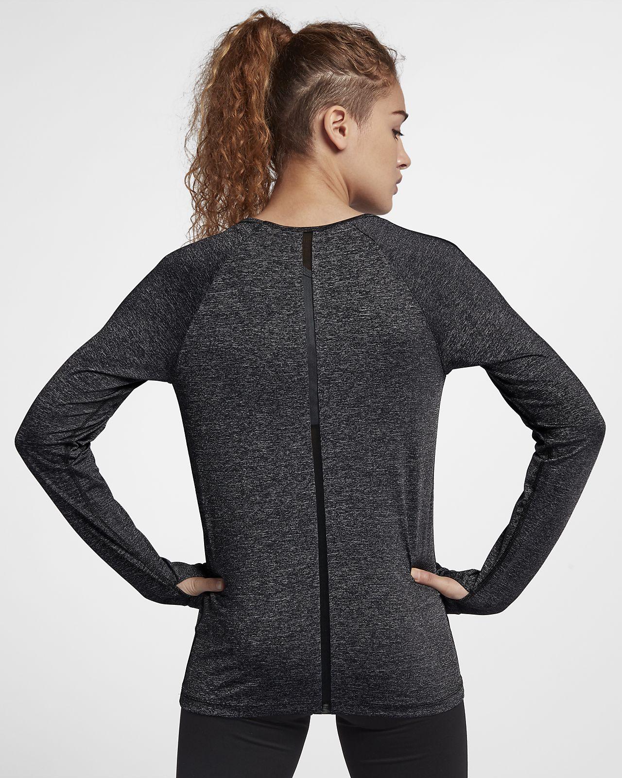 ... Nike Pro HyperCool Women's Long Sleeve Training Top