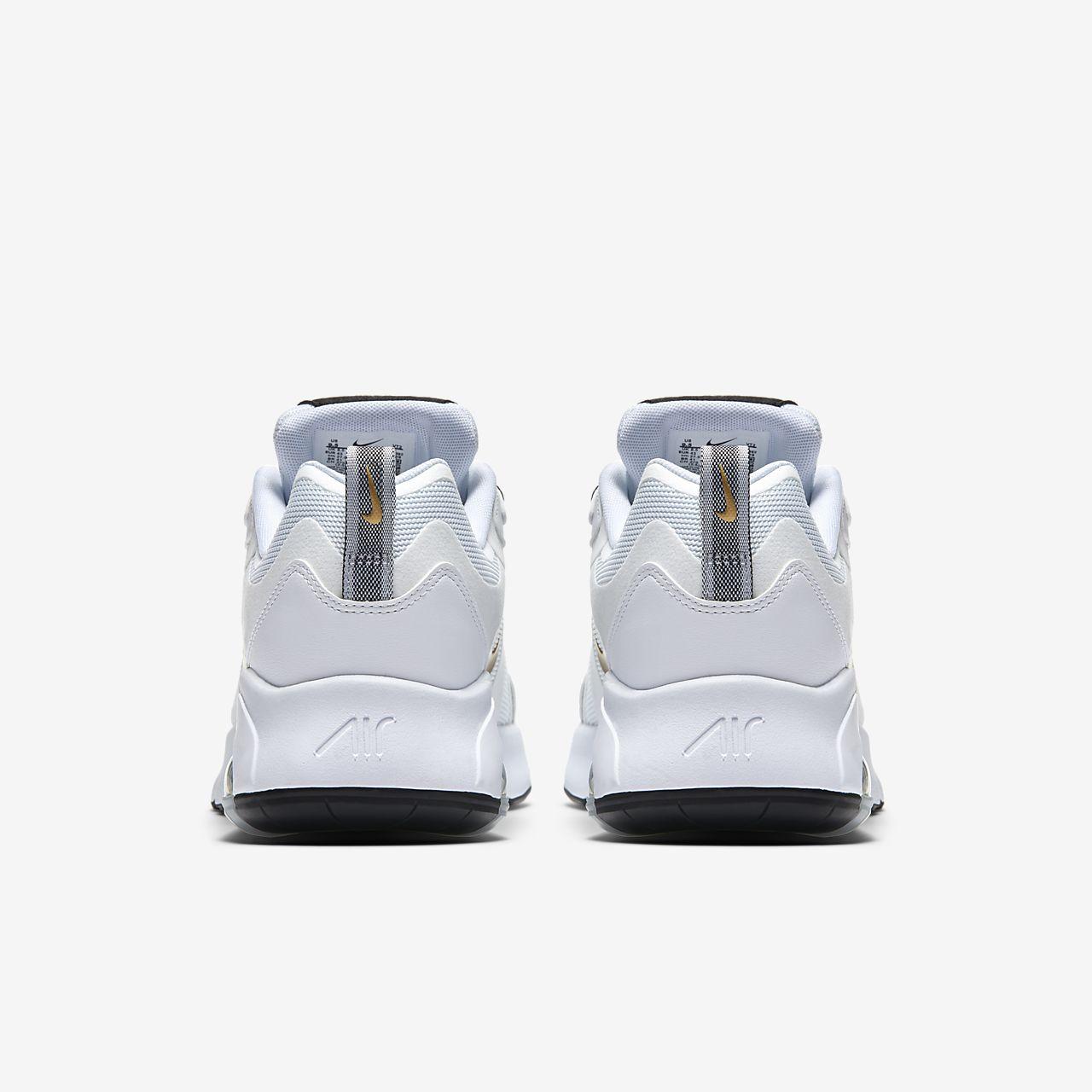 Nike Air Max 200 AQ2568 102 Blanc or Métallique Noir Homme