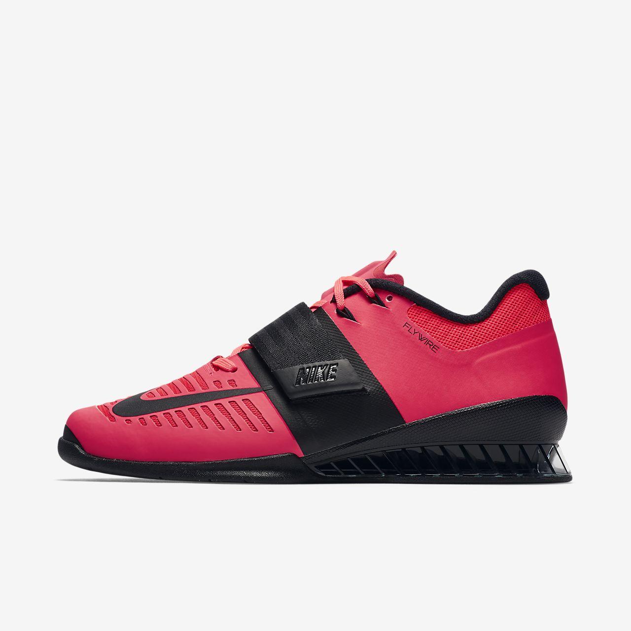 Nike Romaleos 3 852933 600 University Red Dark Grey Black White