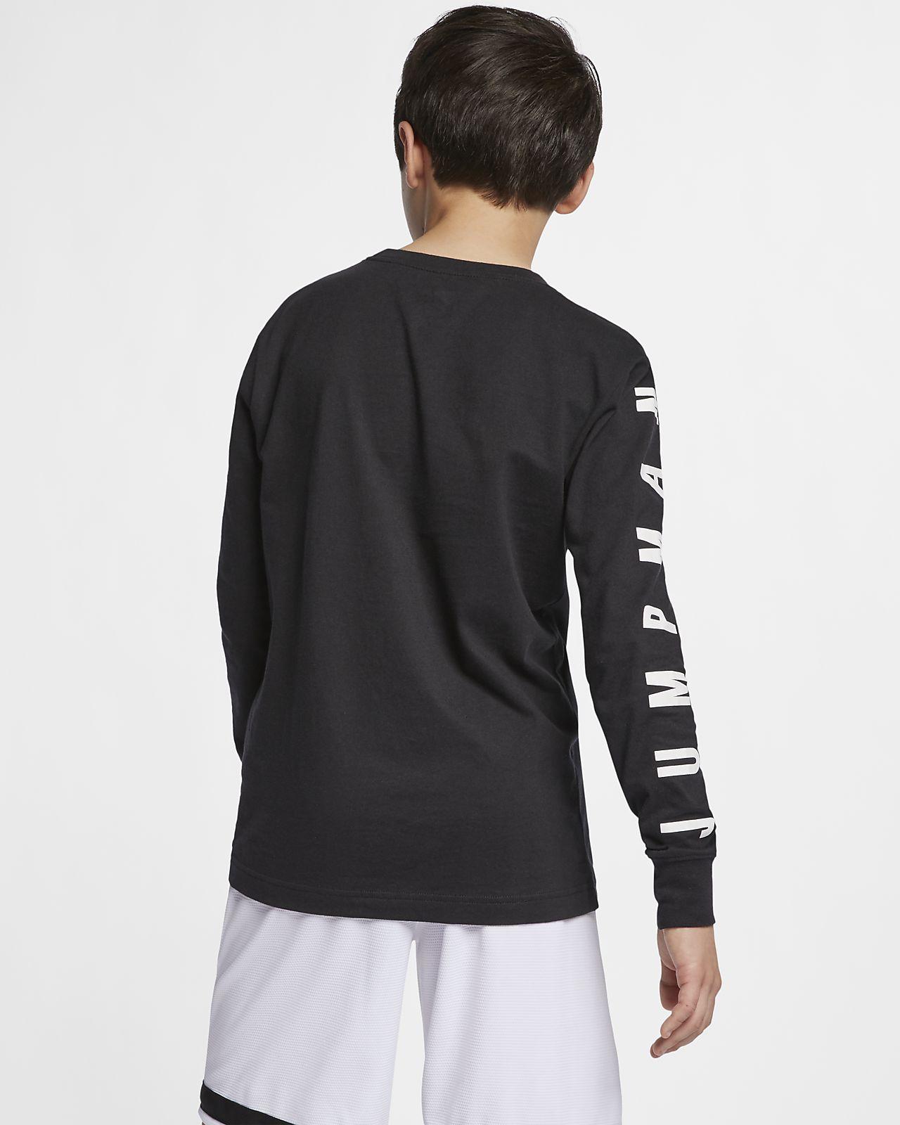 de636e731 Jordan Jumpman 23 Older Kids' (Boys') Long-Sleeve Graphic T-Shirt ...