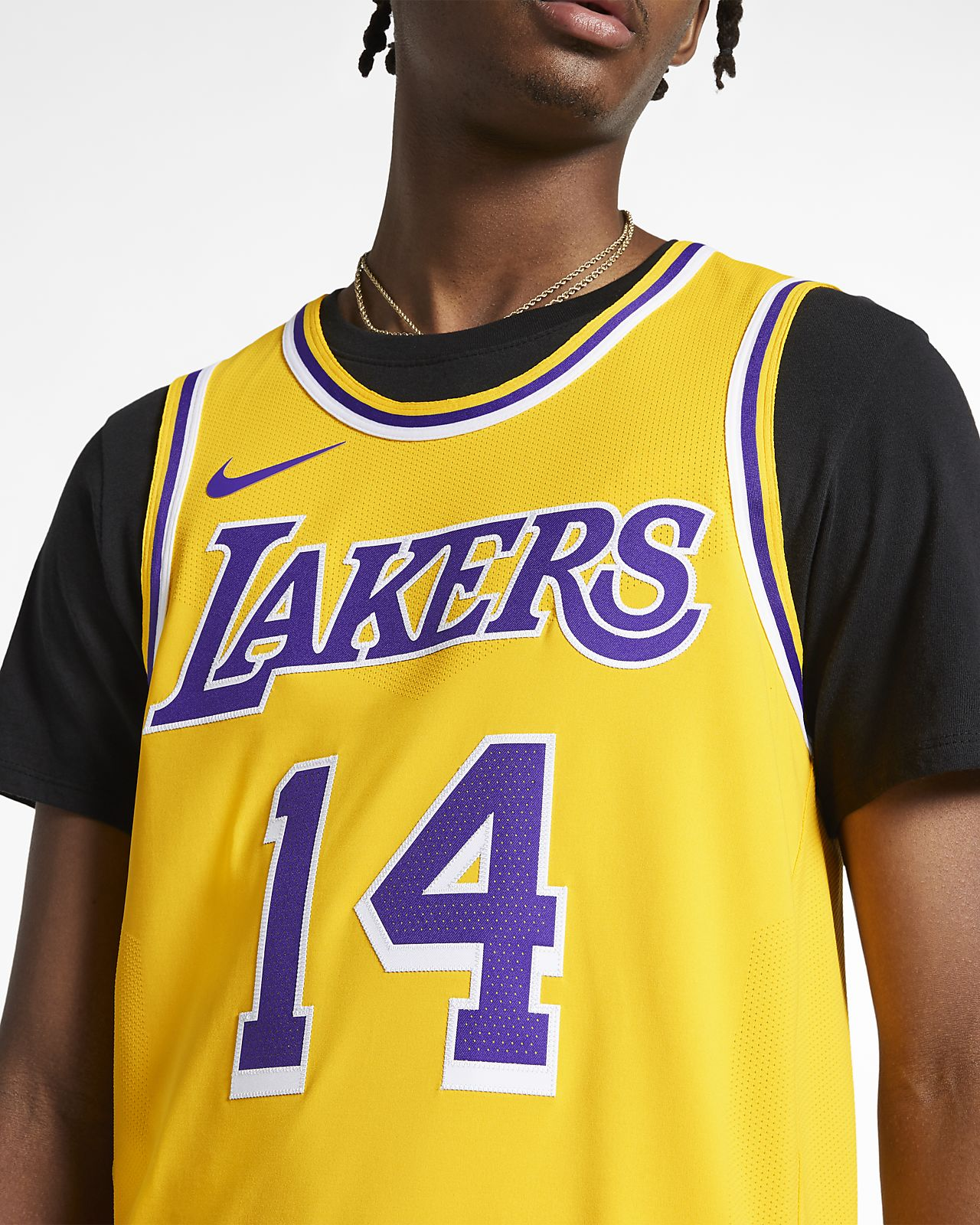 a7a8394dcc04a ... Brandon Ingram Icon Edition Authentic (Los Angeles Lakers) Men's Nike  NBA Connected Jersey