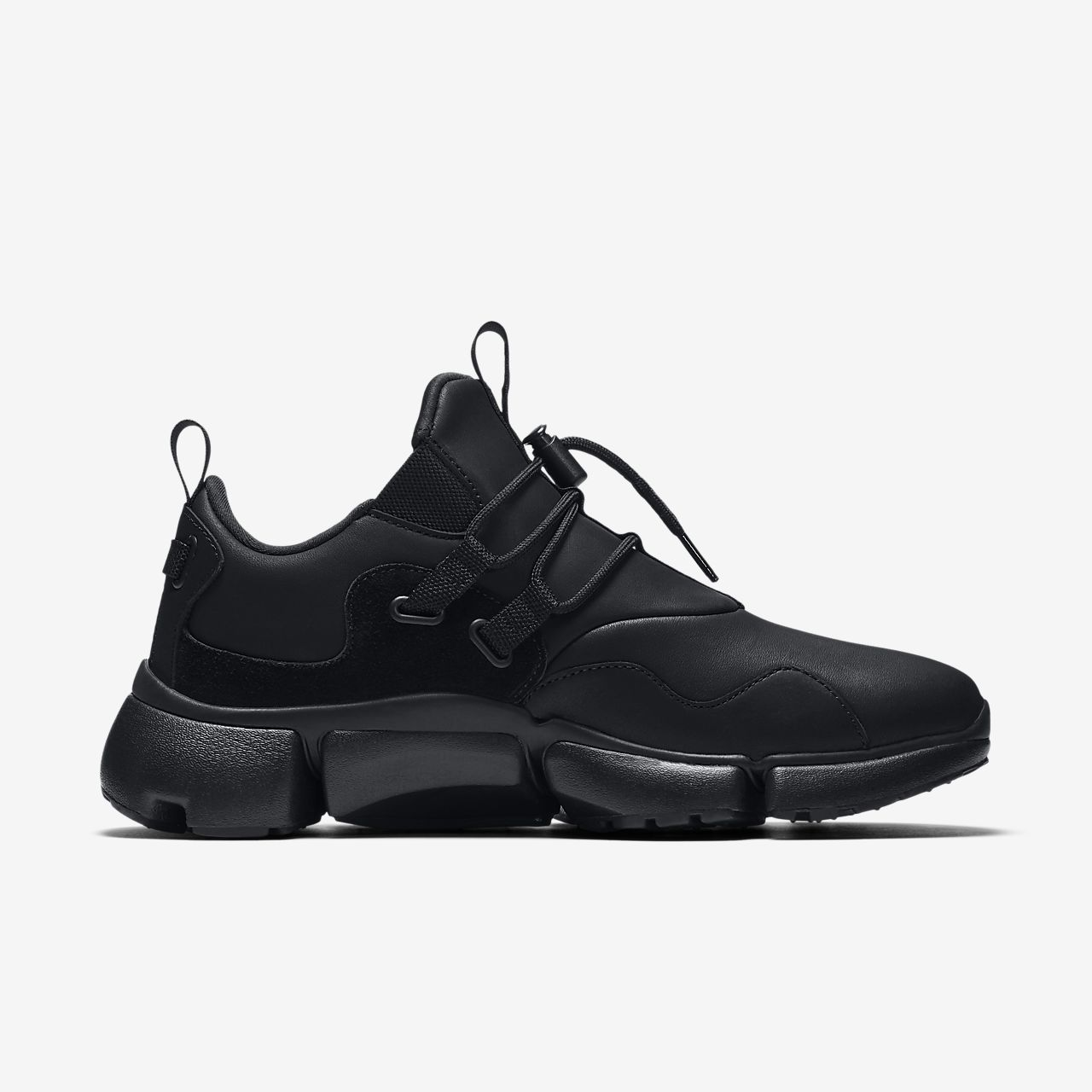 Nike Pocket Knife DM Leather Men's Lifestyle Shoes Black sF2532W