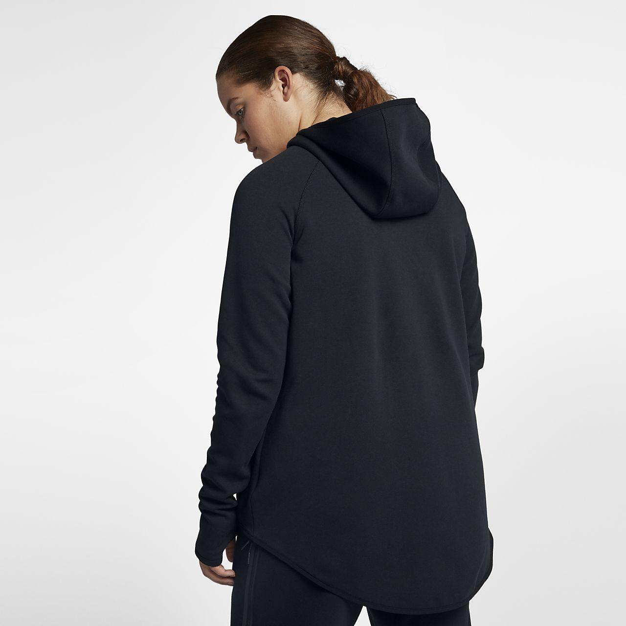 ... Nike Sportswear Tech Fleece (Plus Size) Women's Full-Zip Cape
