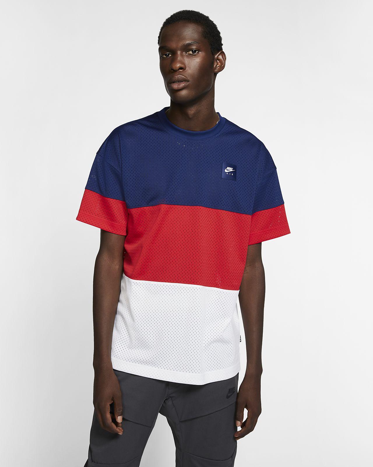 Męska dzianinowa koszulka z krótkim rękawem Nike Air