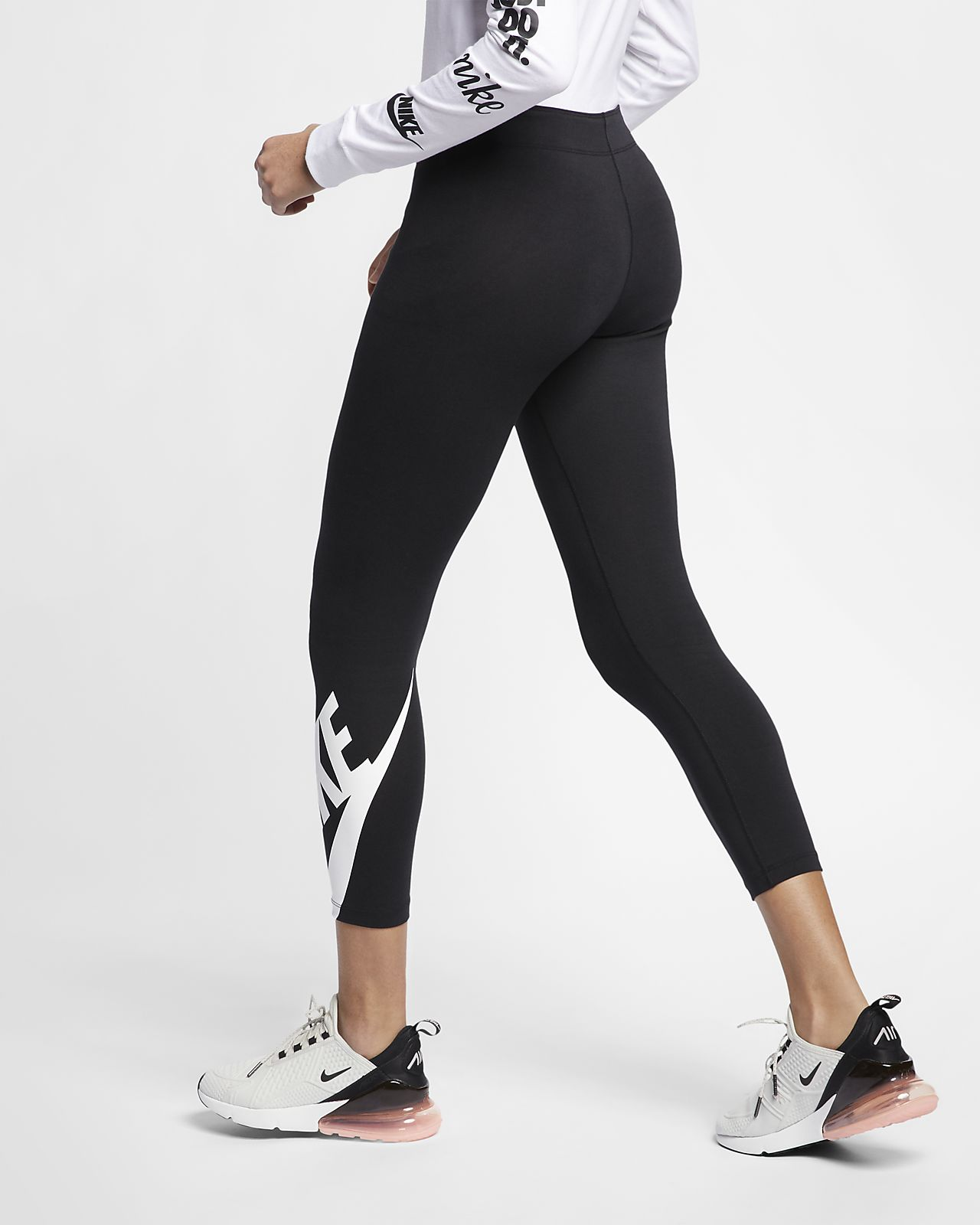 Nike Leggings Sportswear Leg-A-See Black Women