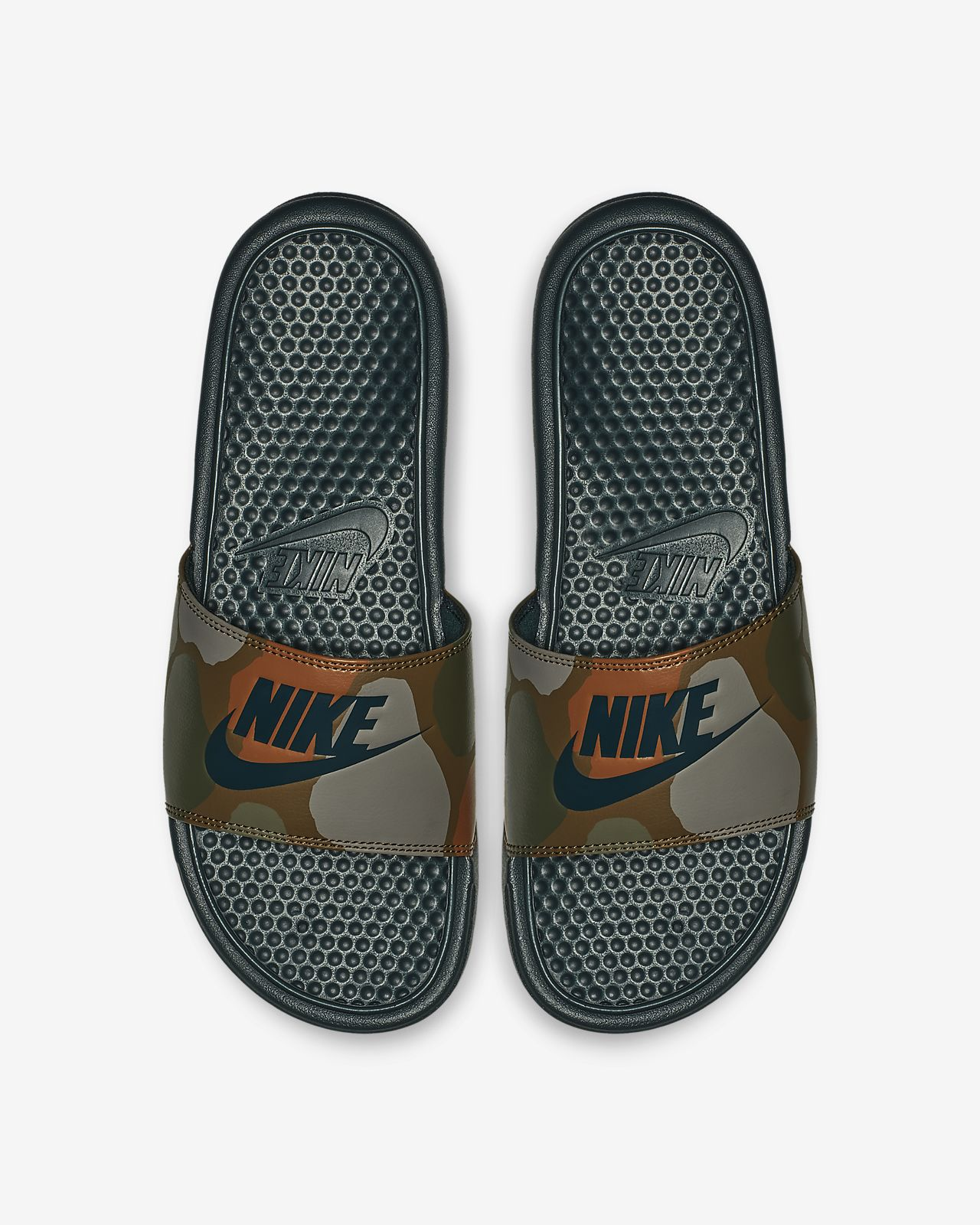 check out 9296c b50fa ... Claquette Nike Benassi JDI Printed pour Homme
