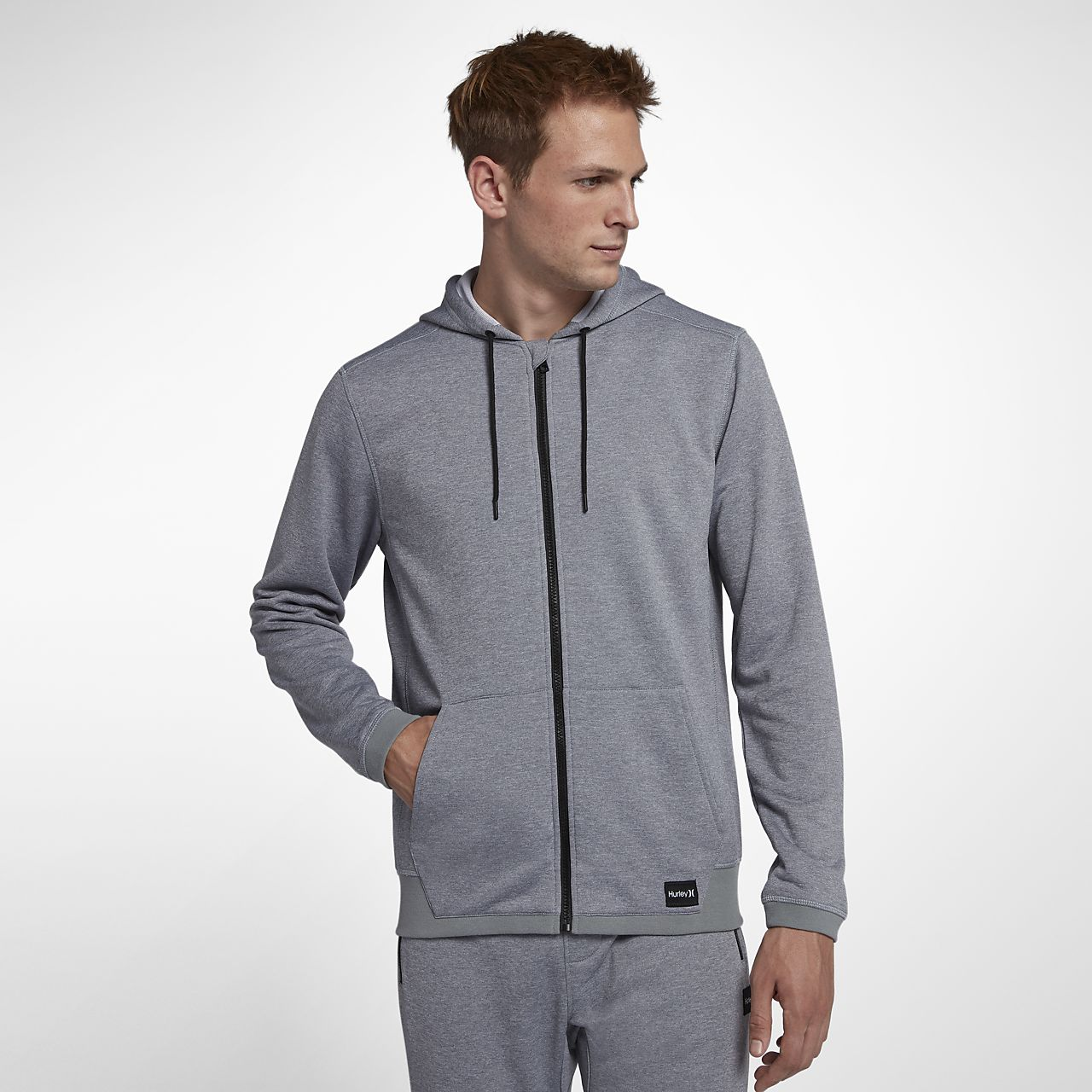 Hurley Dri-FIT Disperse Full-Zip Herren-Hoodie