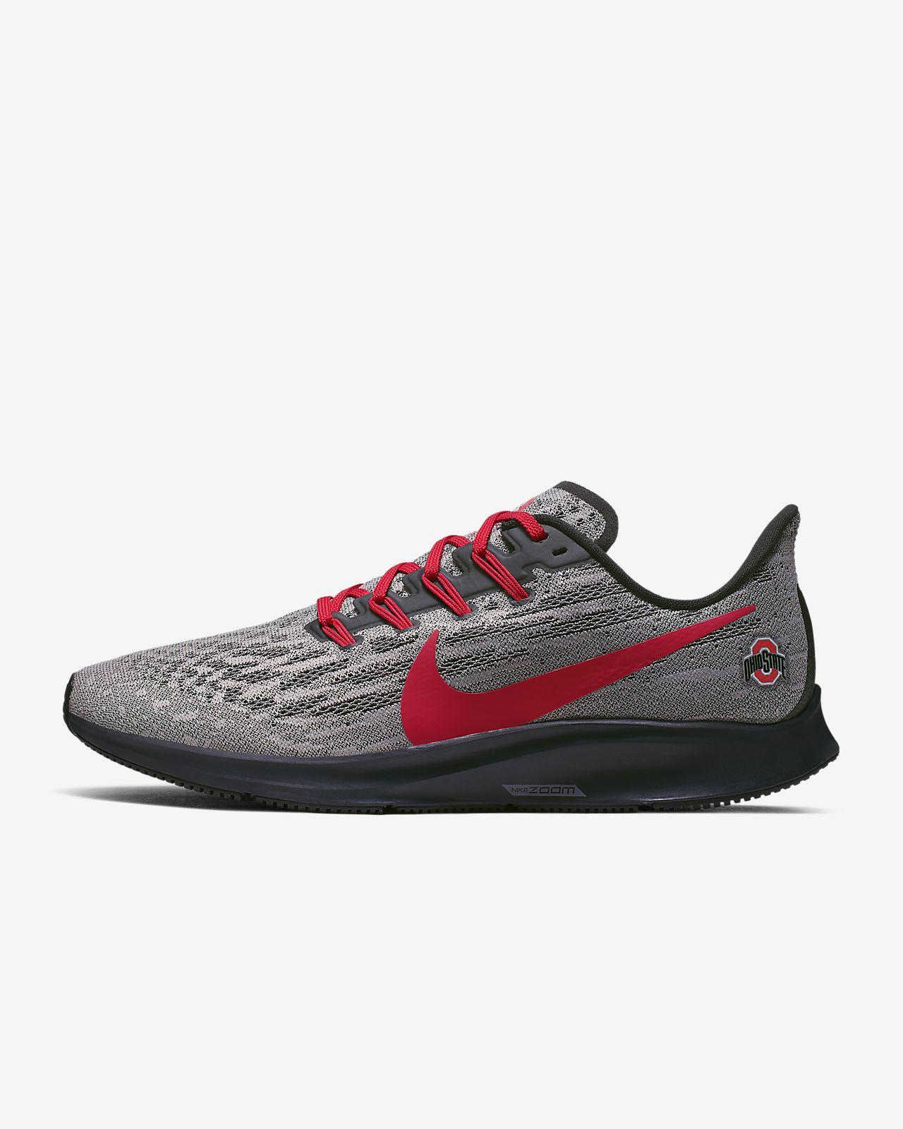 Nike Air Zoom Pegasus 36 (Ohio State) Men's Running Shoe