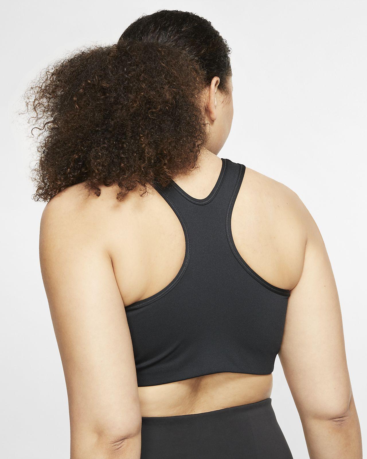 37b8d0f1a6065 Nike Swoosh Women's Medium Support Sports Bra (Plus Size). Nike.com