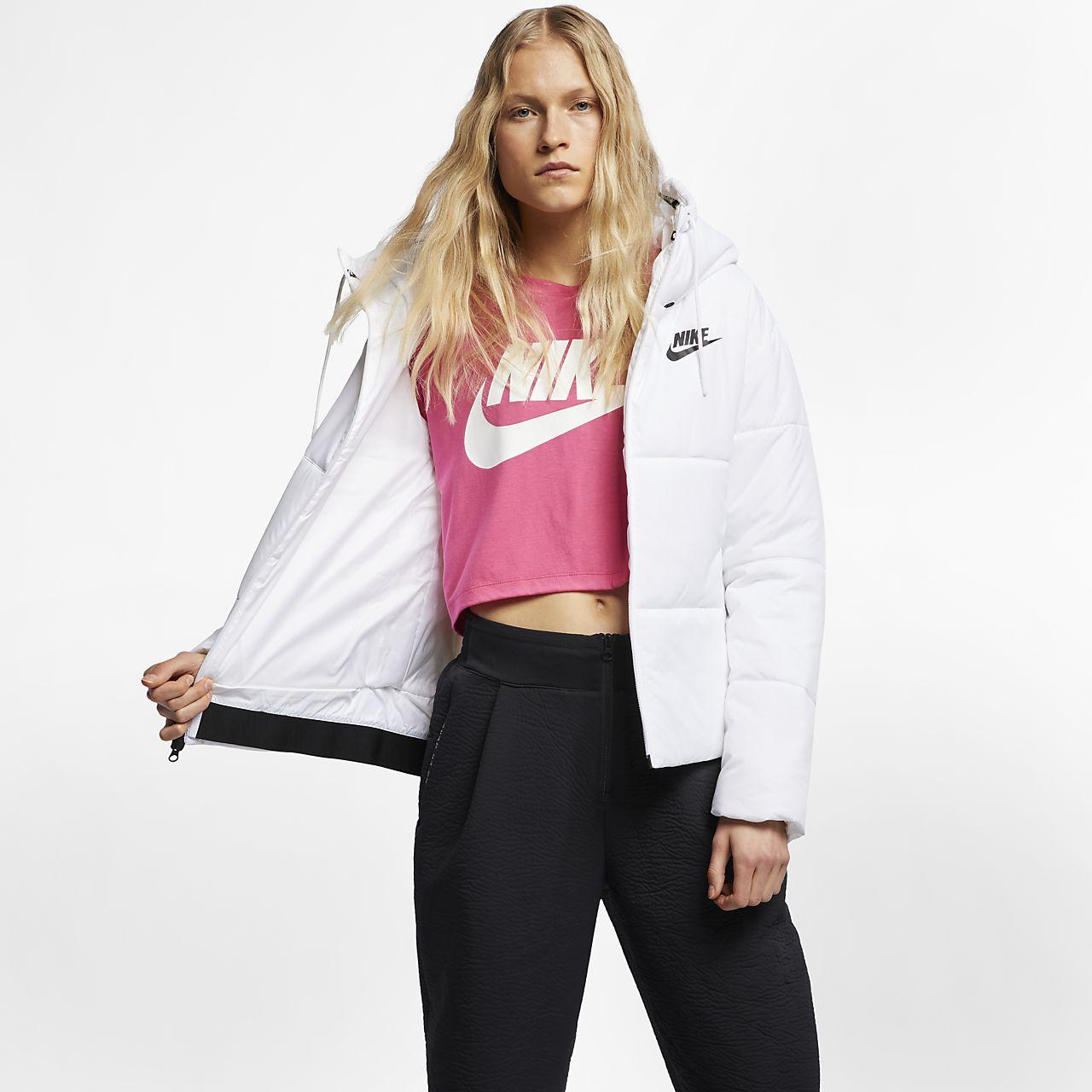 Ca Pour Fill À Nike Femme Veste 5f60pq Synthetic Capuche Sportswear MqSUpzVG