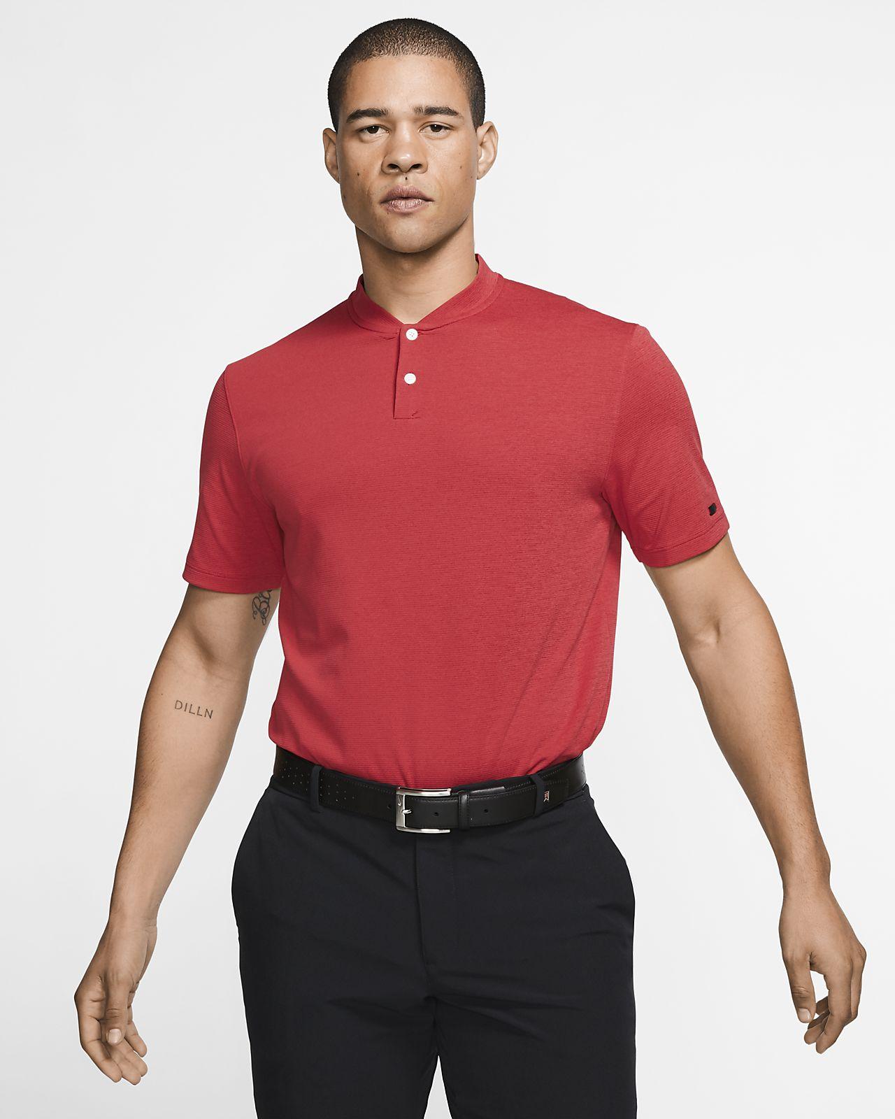 e704b6e3 Nike AeroReact Tiger Woods Vapor Men's Golf Polo. Nike.com CH