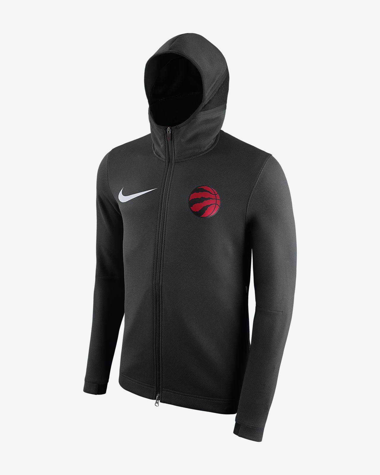 Toronto Raptors Nike Therma Flex Showtime Men s NBA Hoodie. Nike.com CA 2ea77e1df5de