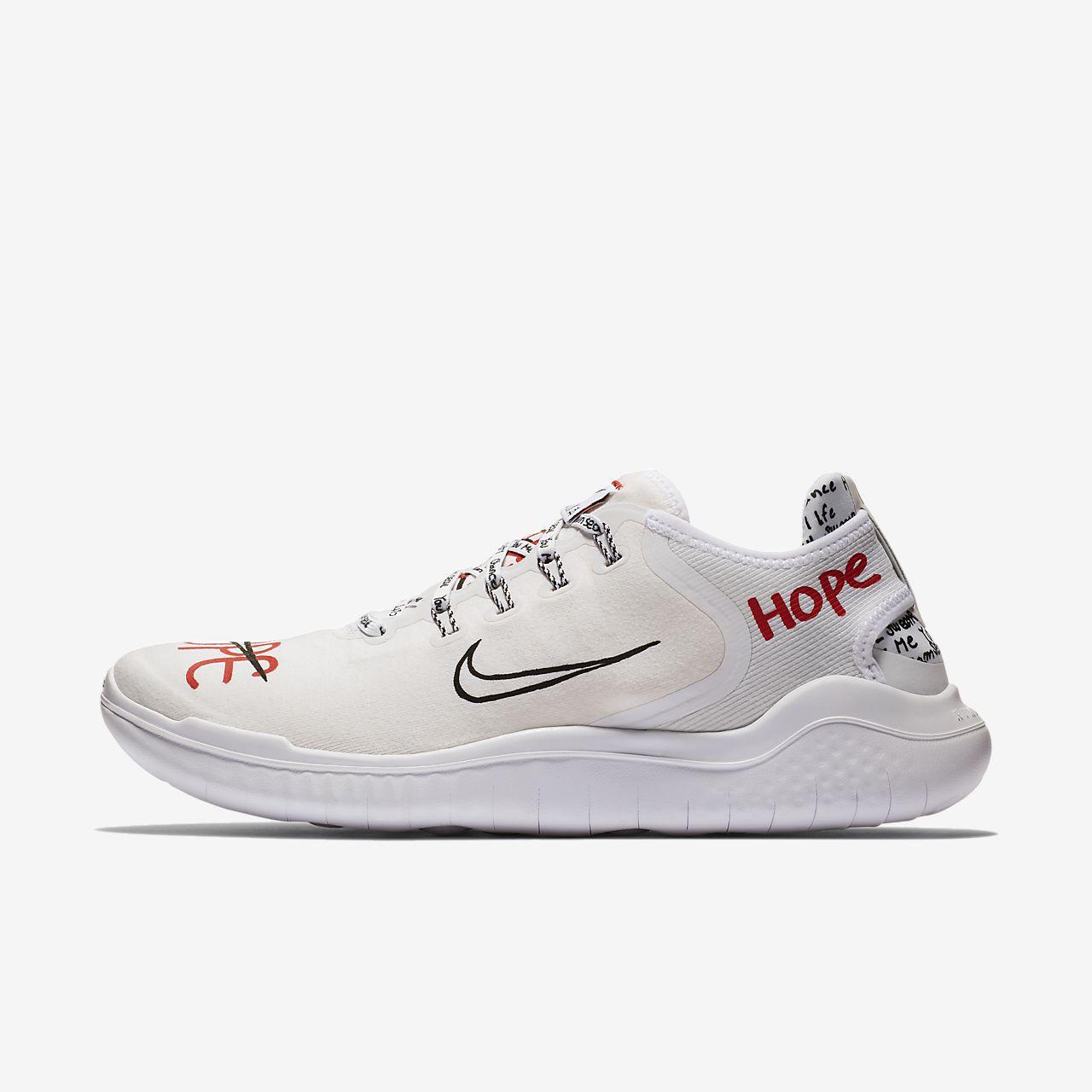 รองเท้าวิ่งผู้ชาย Nike x Novo Free RN 2018 T-Shirt for Your Feet